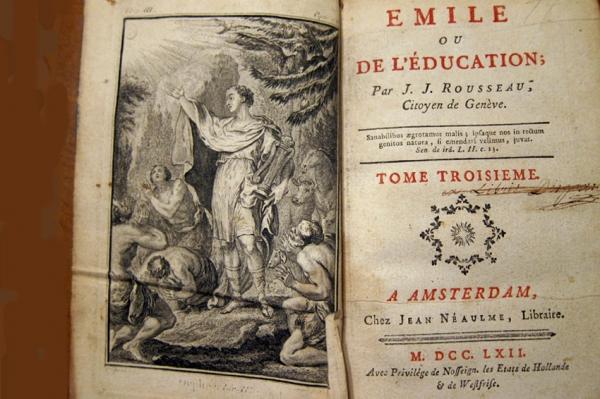 В своем педагогическом сочинении эмиль или о воспитании (1762) ж-ж руссо рассмотрел путь воспитания свободного от