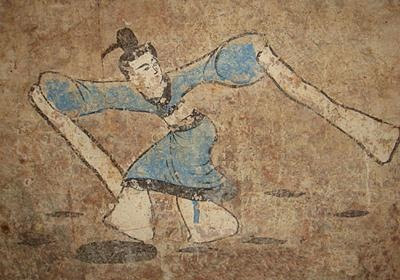 Уникальную гробницу с фресками раскопали в Китае