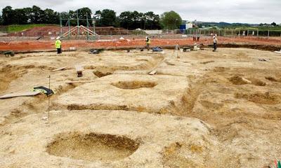 В Британии замечены захоронения воинов железного века