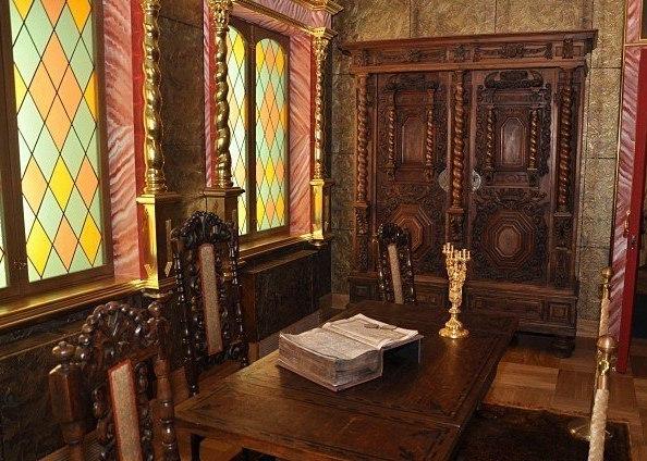 Кабинет царя Алексея Михайловича в Коломенском дворце
