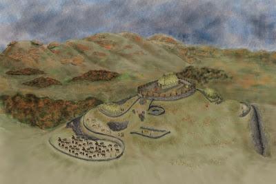Древнюю твердыня в Шотландии обнаружили благодаря пиктограммам