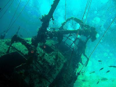 В береговых водах Севастополя найдено немецкое грузовое судно времен ВОВ