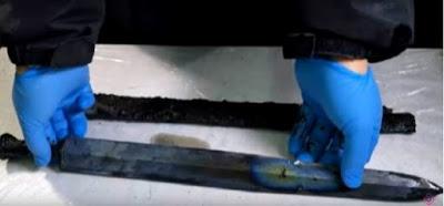 Китайские археологи отыщи меч возрастом 2300 лет