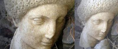 Проливные дожди на Крите вымыли древнюю скульптуру совершенной красоты