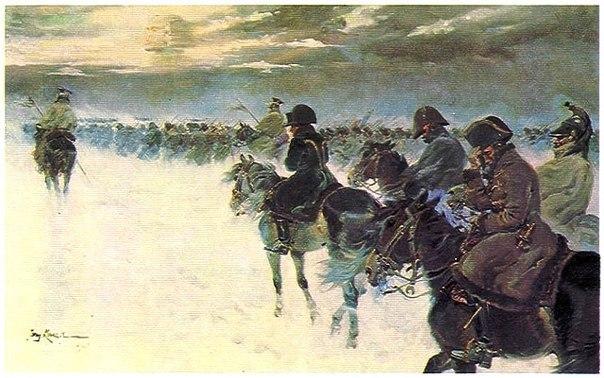 Что или кто загубил армию Наполеона