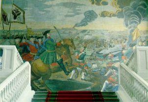 В начине 1750-х особый интерес Ломоносов проявил к мозаике, бисерным и стеклянным заводам