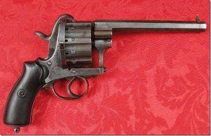 Первые револьверы в России