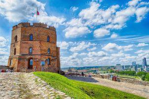 Башня Гедимина в Вильнюсе (Вильно)