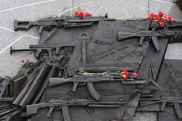 Историк: на монументе Калашникову вместо АК-47 размещена схема немецкой винтовки StG.44