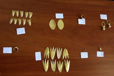 Новоиспеченное скифское золото, найденное в русском Крыму, заставит Киев нервничать
