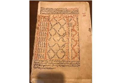 На Афоне отысканы уникальные арабские рукописи периода становления ислама