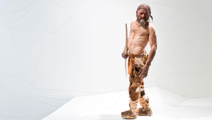 """Ученые тщательно изучили топор альпийского """"Ледяного человека"""" Эци"""