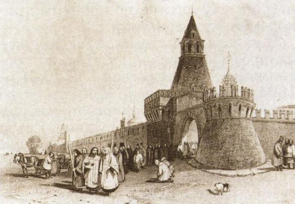 Москва в живописи. Доля 2