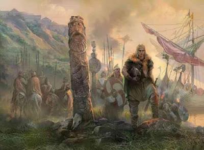 В Карелии замечено необычное захоронение викингов