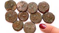 В пещере у Храмовой горы отысканы монеты еврейских повстанцев