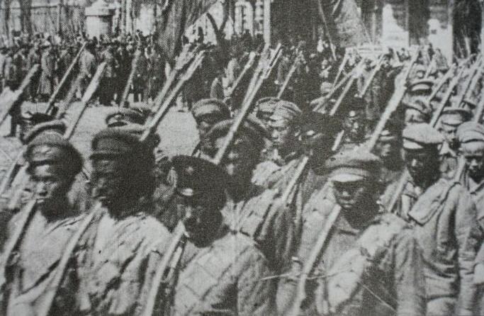 Сколько китайских наемников воевало в Алой Армии во время Гражданской войны