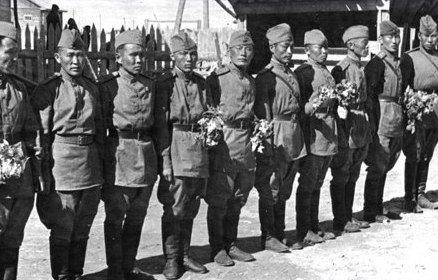 Какие национальные доли воевали в Красной Армии на Великой Отечественной