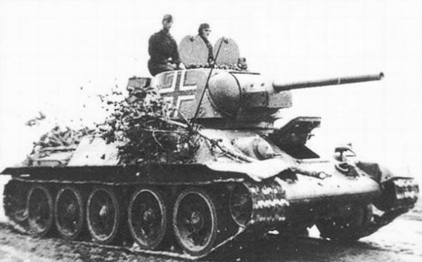 Какое советское оружие весьма нравилось немецким оккупантам