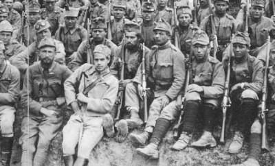 Как украинские сечевые стрельцы воевали с русскими на Первой всемирный