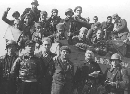 Какие испанцы воевали за СССР в Великую Отечественную брань