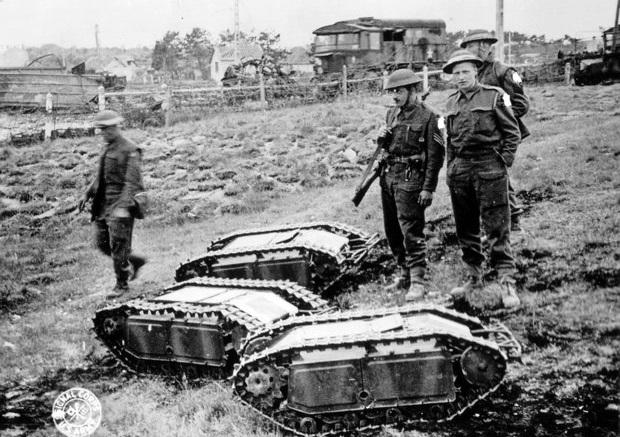 «Голиаф»: как показали себя в бою немецкие самодвижущиеся мины