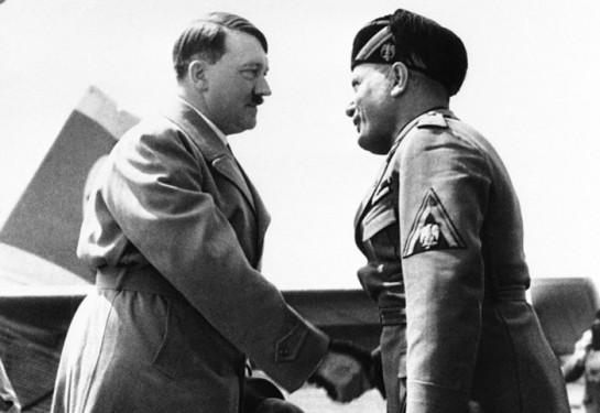 Отчего нацисты и фашисты презирали друг друга
