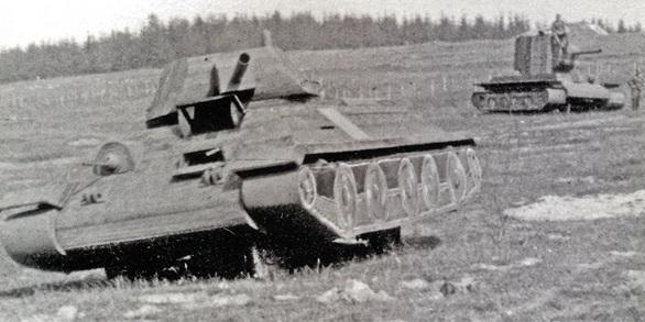 Как «воевали» советские фанерные танки на Великой Отечественной