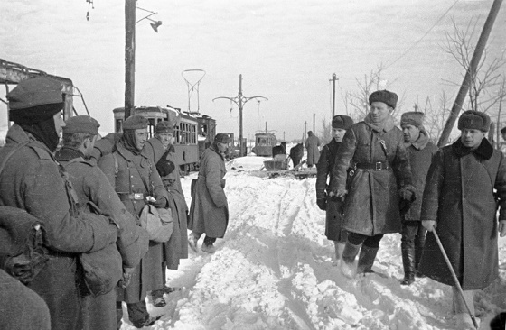 Неформальное общение русских с немцами в Сталинграде: как это было