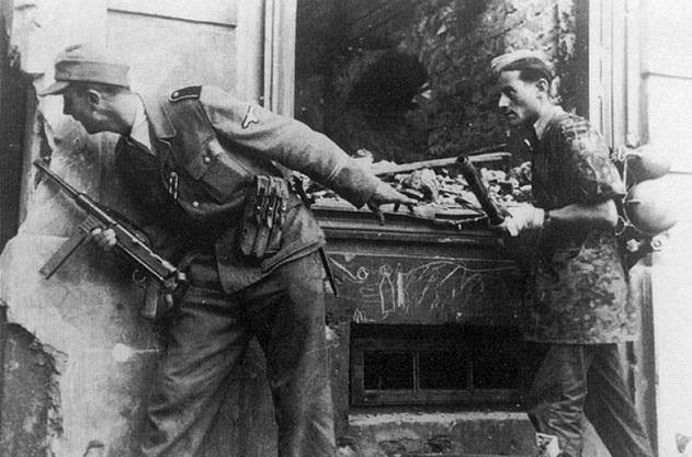Штрафные батальоны СС: кто в них воевал