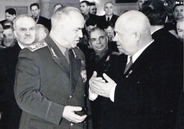 Как Хрущёв устроился с Жуковым в 1957 году