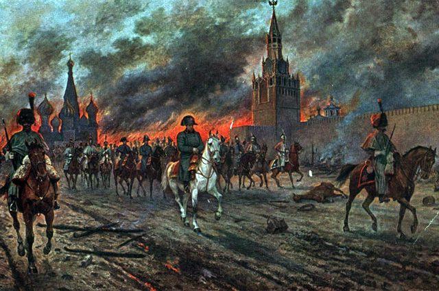 Как свита Наполеона избавила его от казаков Платова
