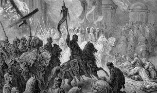 Сколько новоиспеченных государств создали крестоносцы во время Крестовых походов
