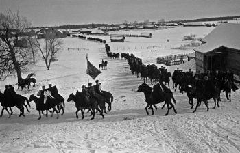 Как советская конница воевала против танков в Битве за Москву