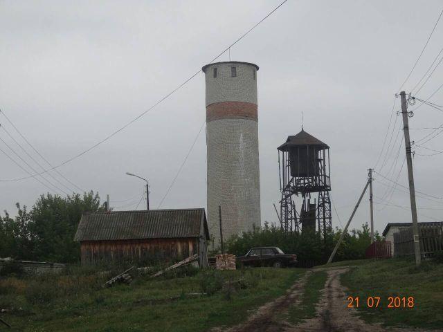 Водокачка в с. Тереньга Ульяновской области