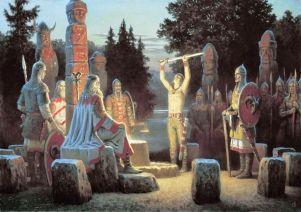 Славянское ритуалы: чем языческие обряды шокировали европейских современников
