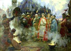 Как князь Михаил Черниговский зачислил смерть за христианскую веру