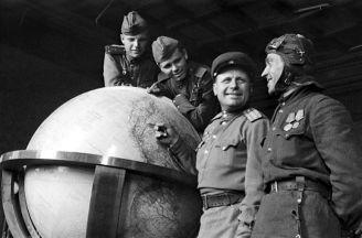 «Глобус всемирного фашизма» куда исчез гигантский макет планеты из кабинета Гитлера