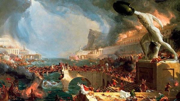 Как варвары Римскую империю развалили