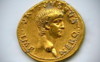 <p>При раскопках в Иерусалиме замечена уникальная монета времен императора Нерона</p>
