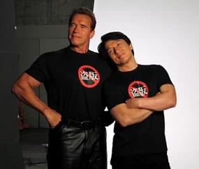 <p>Шварценеггер и Джеки Чан снимаются в российском кинофильме «Вий-2»</p>