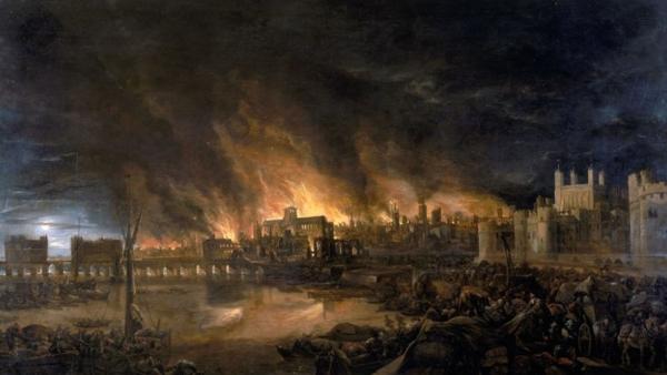 Как горел Лондон