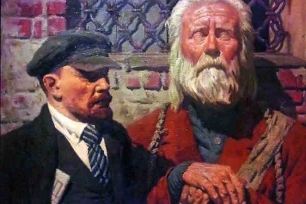 """<p>Что желал выразить художник Гелий Коржев своей неразгаданной """"Беседой""""</p>"""