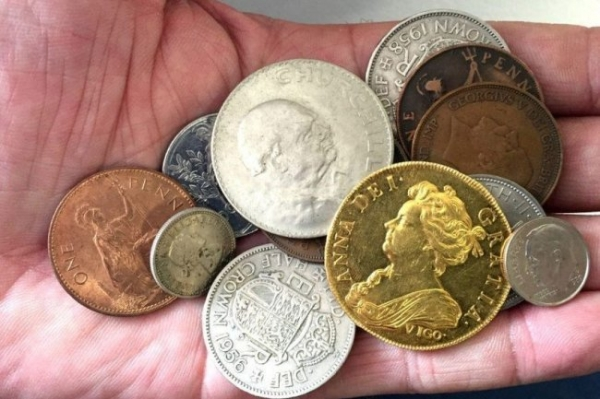 <p>В ребяческой игре нашли редкую монету стоимостью 300 тысяч долларов</p>