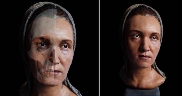 Восстановлен облик жрицы с вытянутым черепом из Аркаима