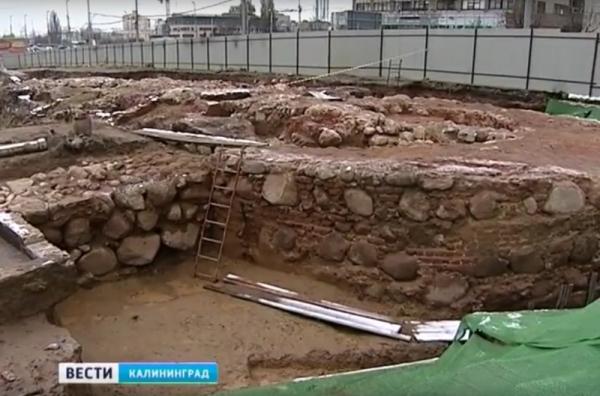 В Калининграде отыскан культурный слой пруссов доорденского периода
