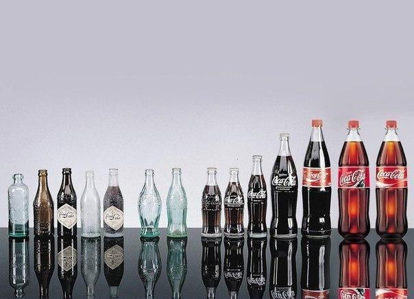 Эволюция Coca-Colа