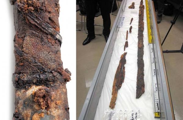 В гробнице на острове Кюсю отыскан самый длинный меч Японии