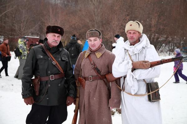 В Нательном Новгороде прошла реконструкция Операции «Уран»