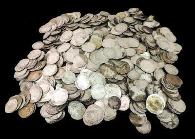 Тысяча серебряных монет замечена в Англии