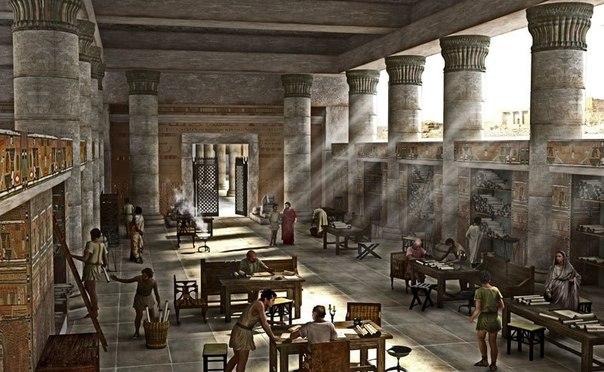 Александрийская библиотека – ярчайший образец гениальности человека